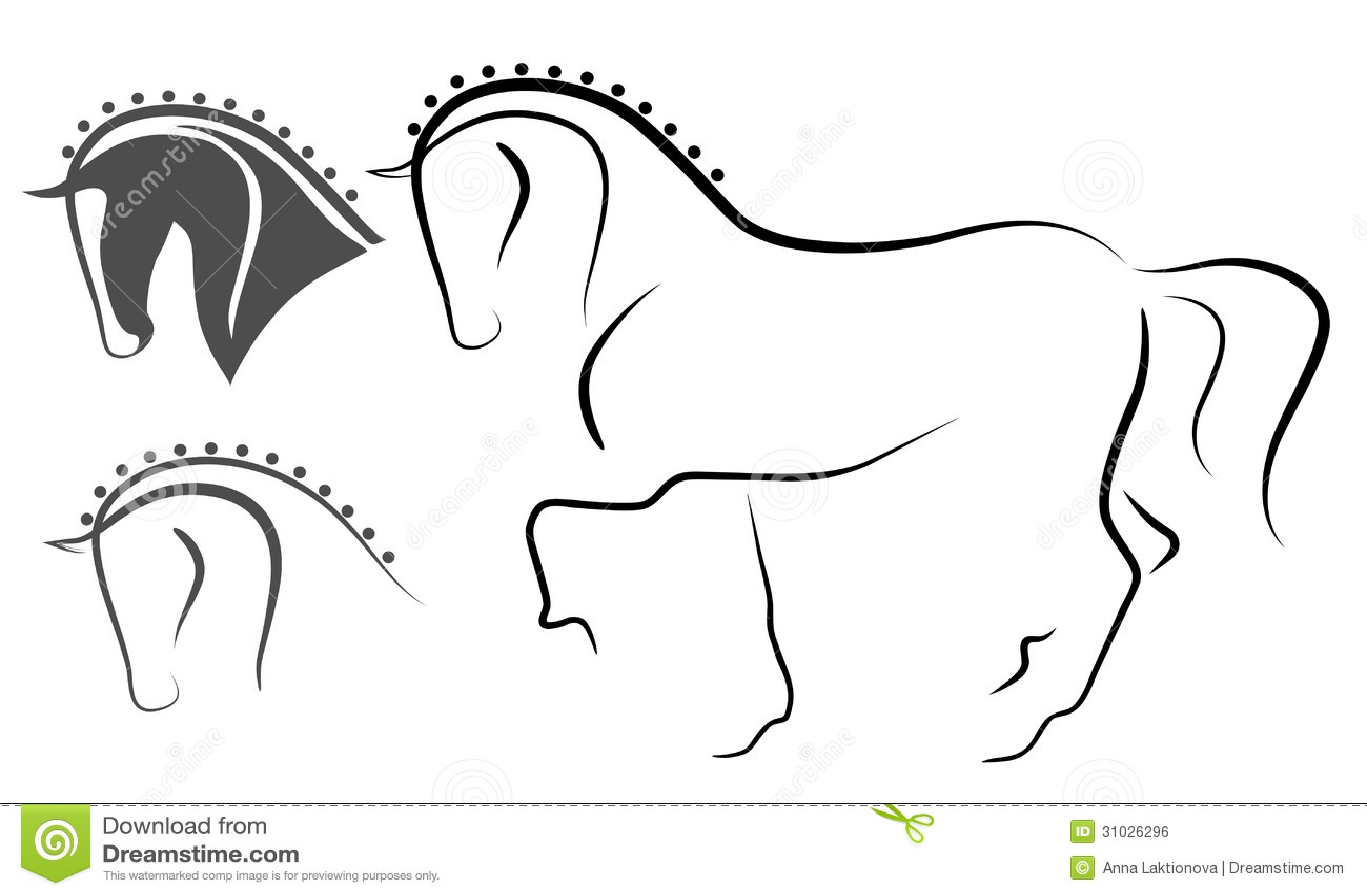 Dressage Horse Stock Vector Illustration Of Horse Design