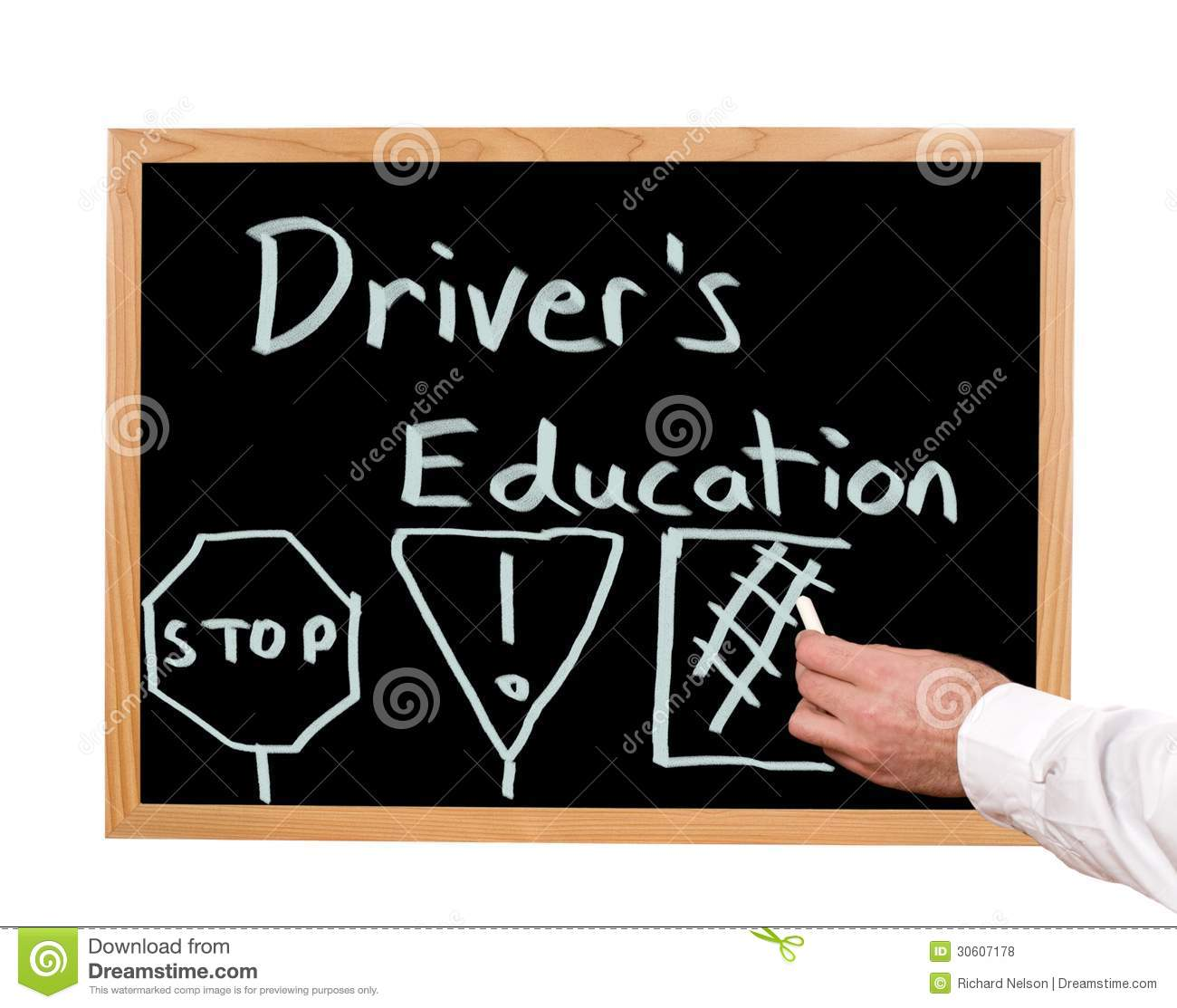 Driver S Education Stock Photo Image Of School