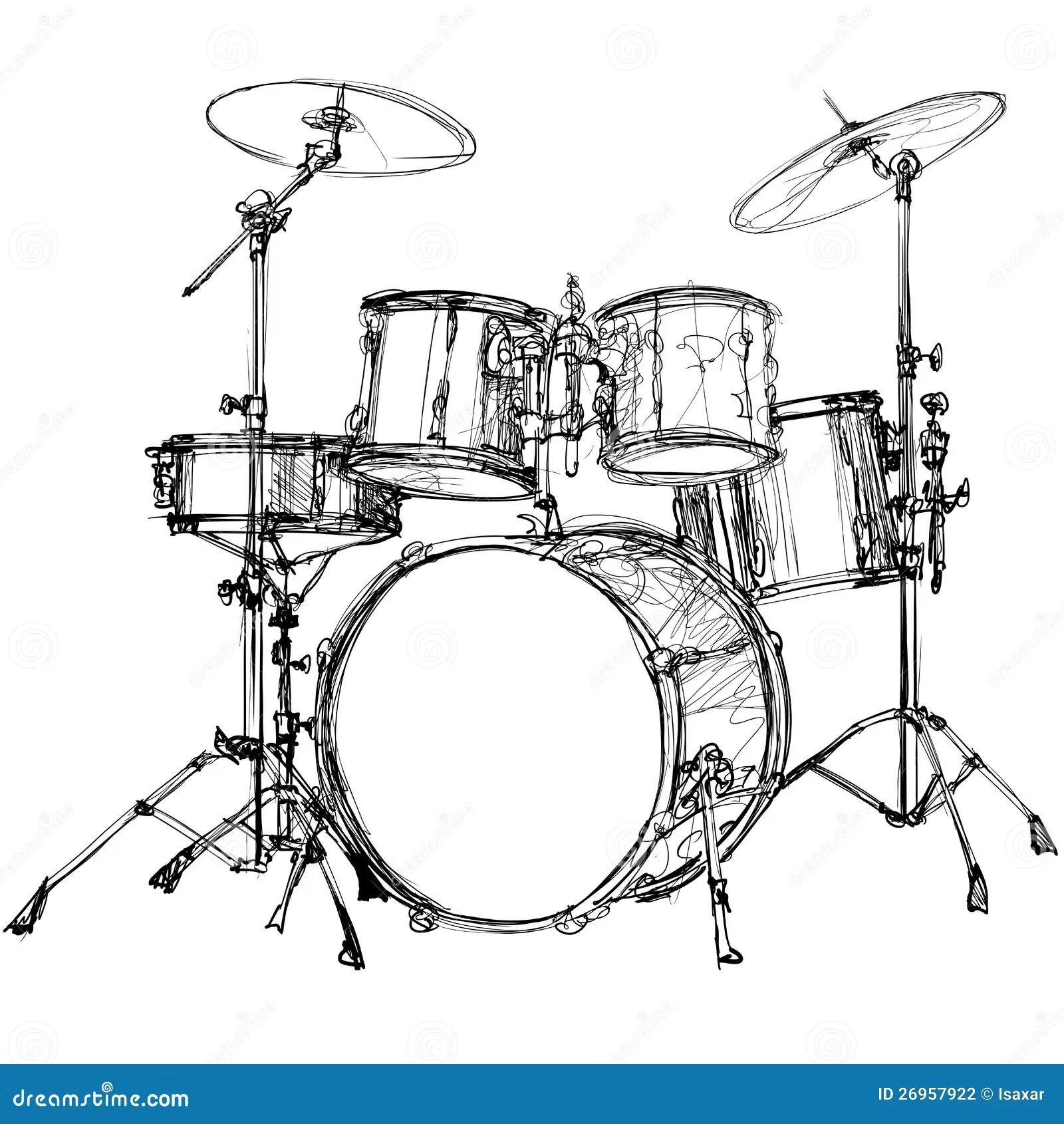 Drum Kit Stock Photography