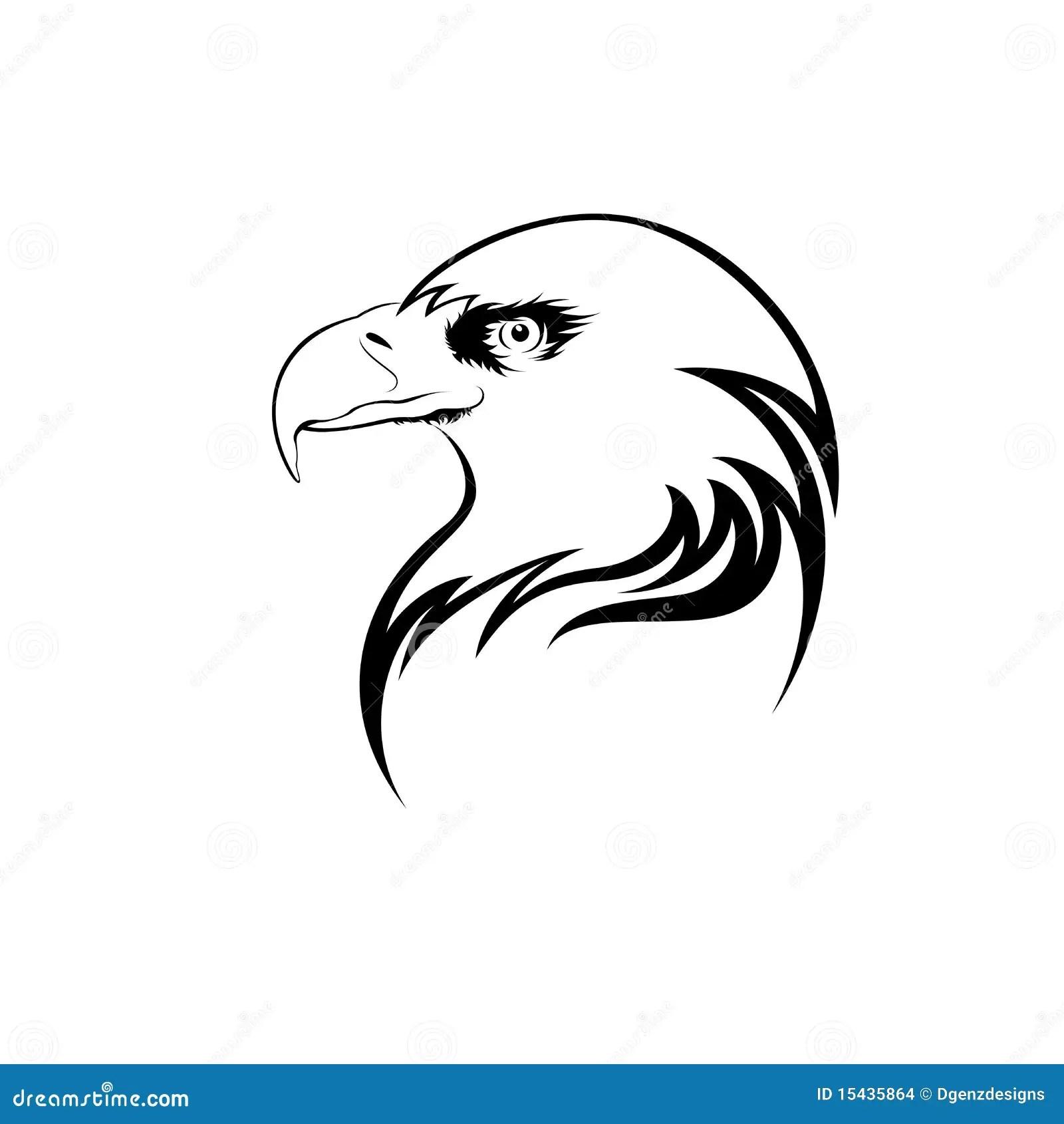 Eagle Head Stock Illustration Image Of Graphics Hawk