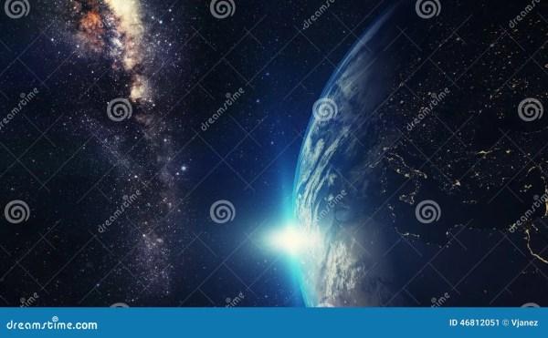 Earth Night Stock Photo Image 46812051