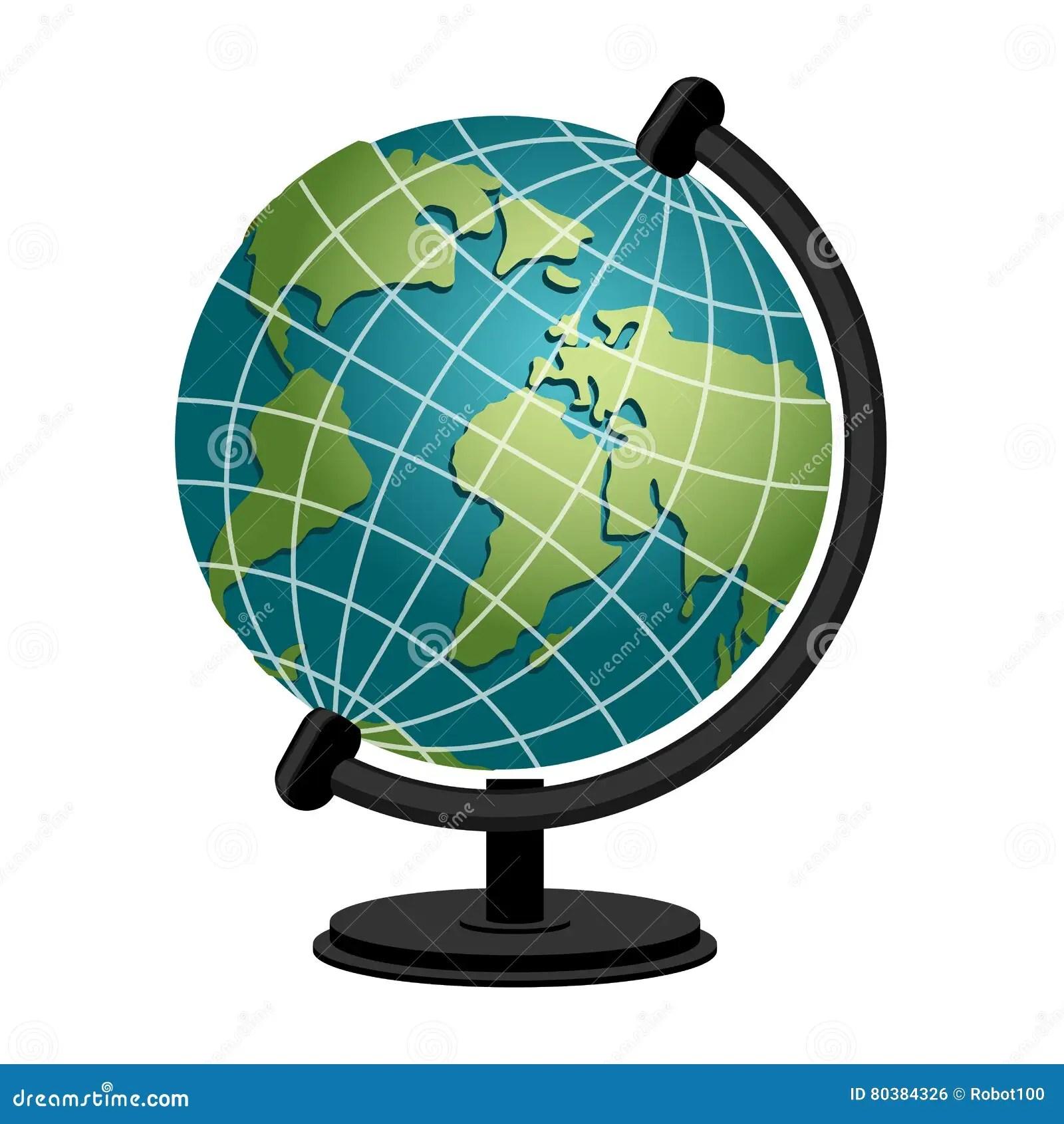 Earth School Geography Globe Model Of Planet Sphere