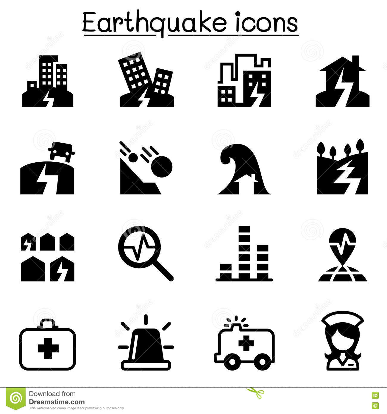 Earthquake Icon Stock Illustrations 2 249 Earthquake