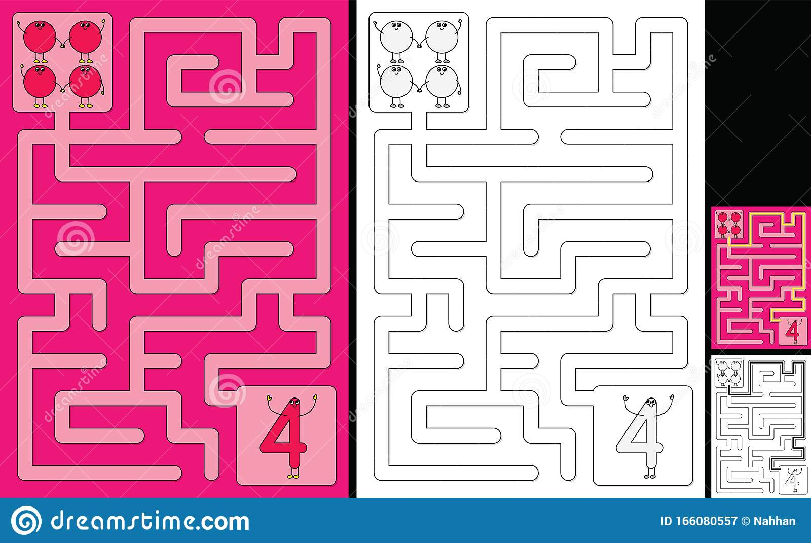 Easy Number Maze