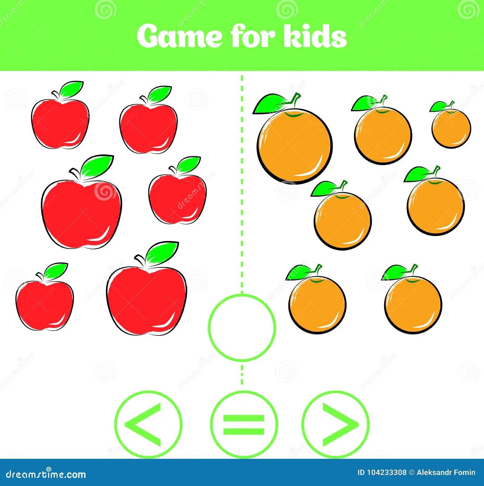 Education Logic Game For Preschool Kids Choose The