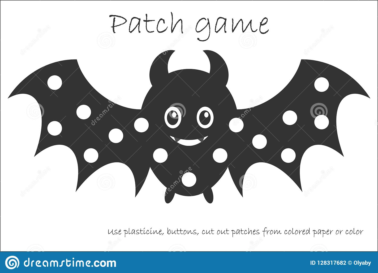 Education Patch Game Bat For Children To Develop Motor