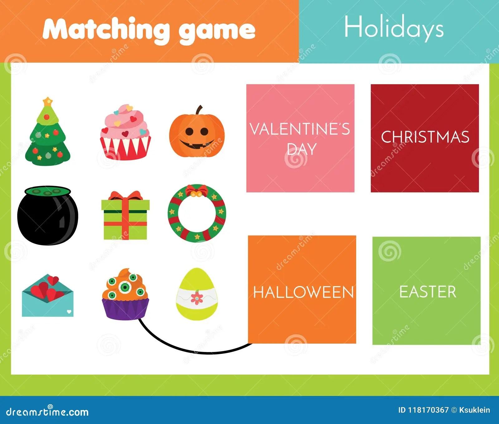 Holiday Worksheet For Kindergarten