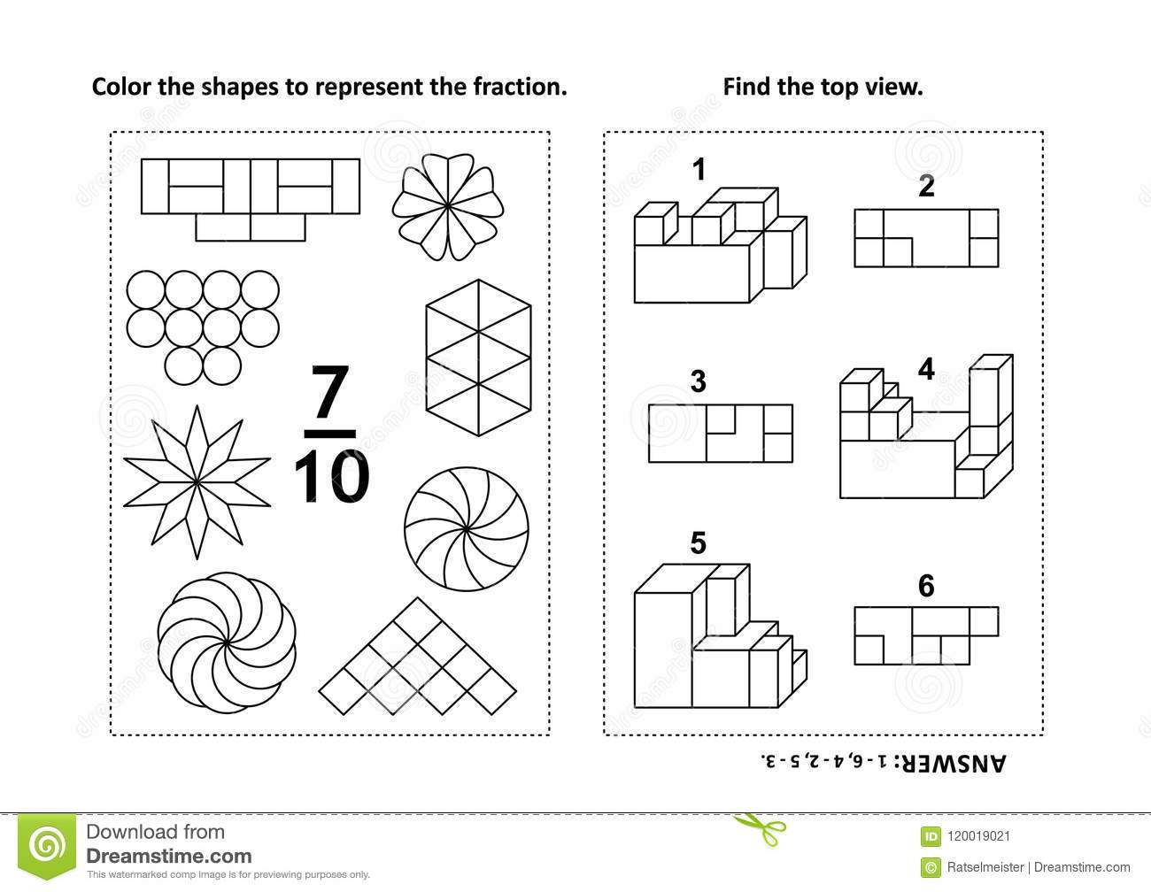 Worksheet Spatial Ability