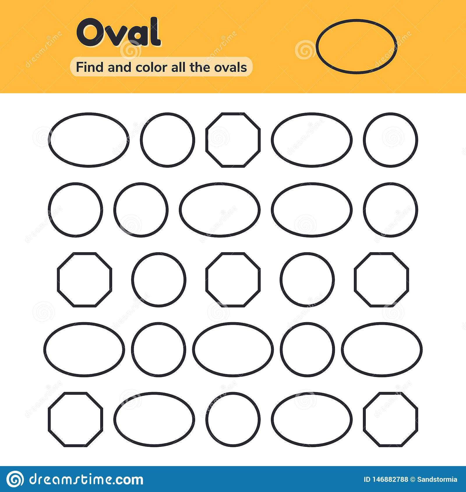 Circle Worksheet For Kids