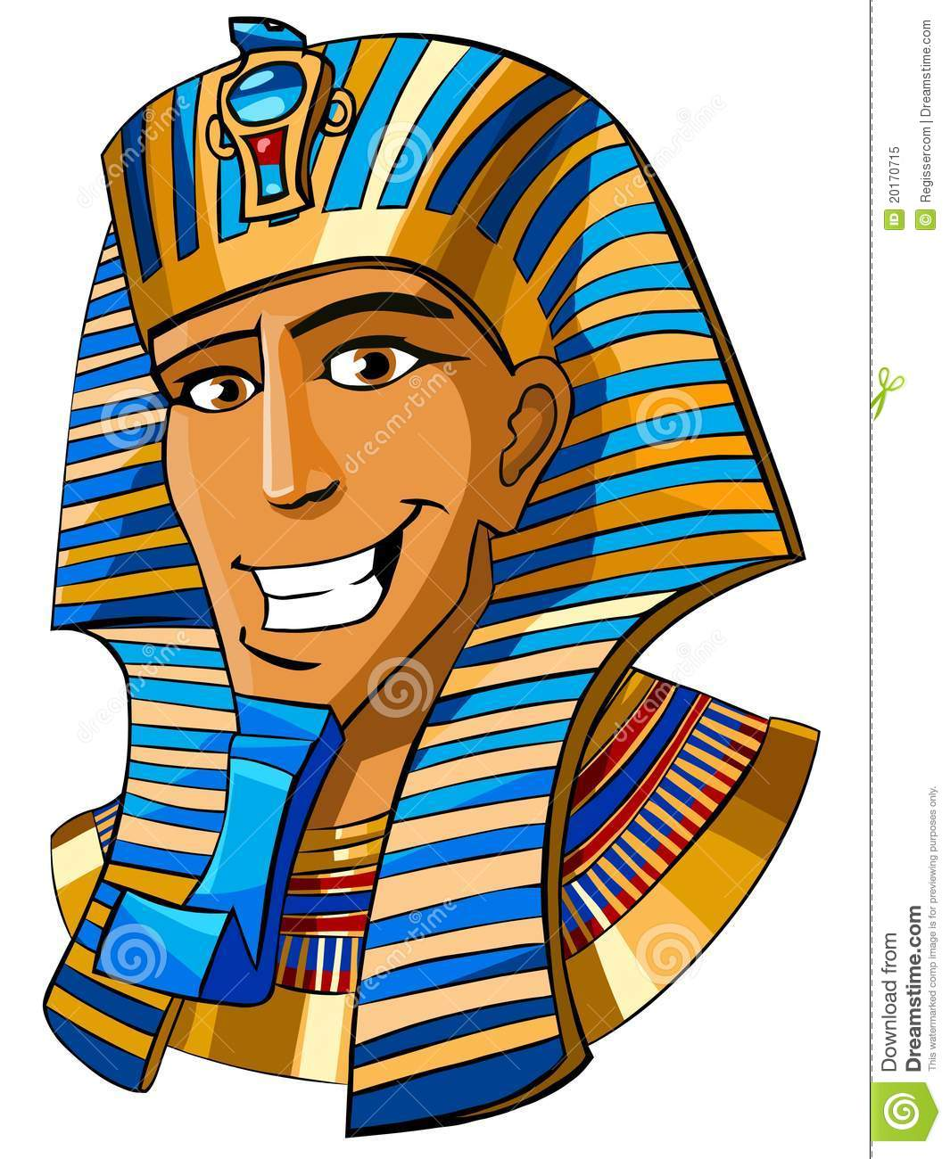 Make Pharaoh Rain It Cartoon
