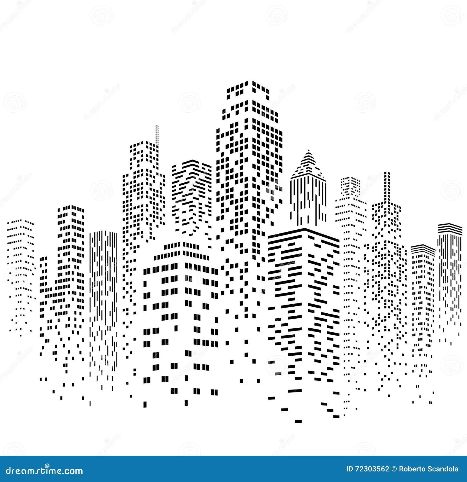 La City Skyline Night