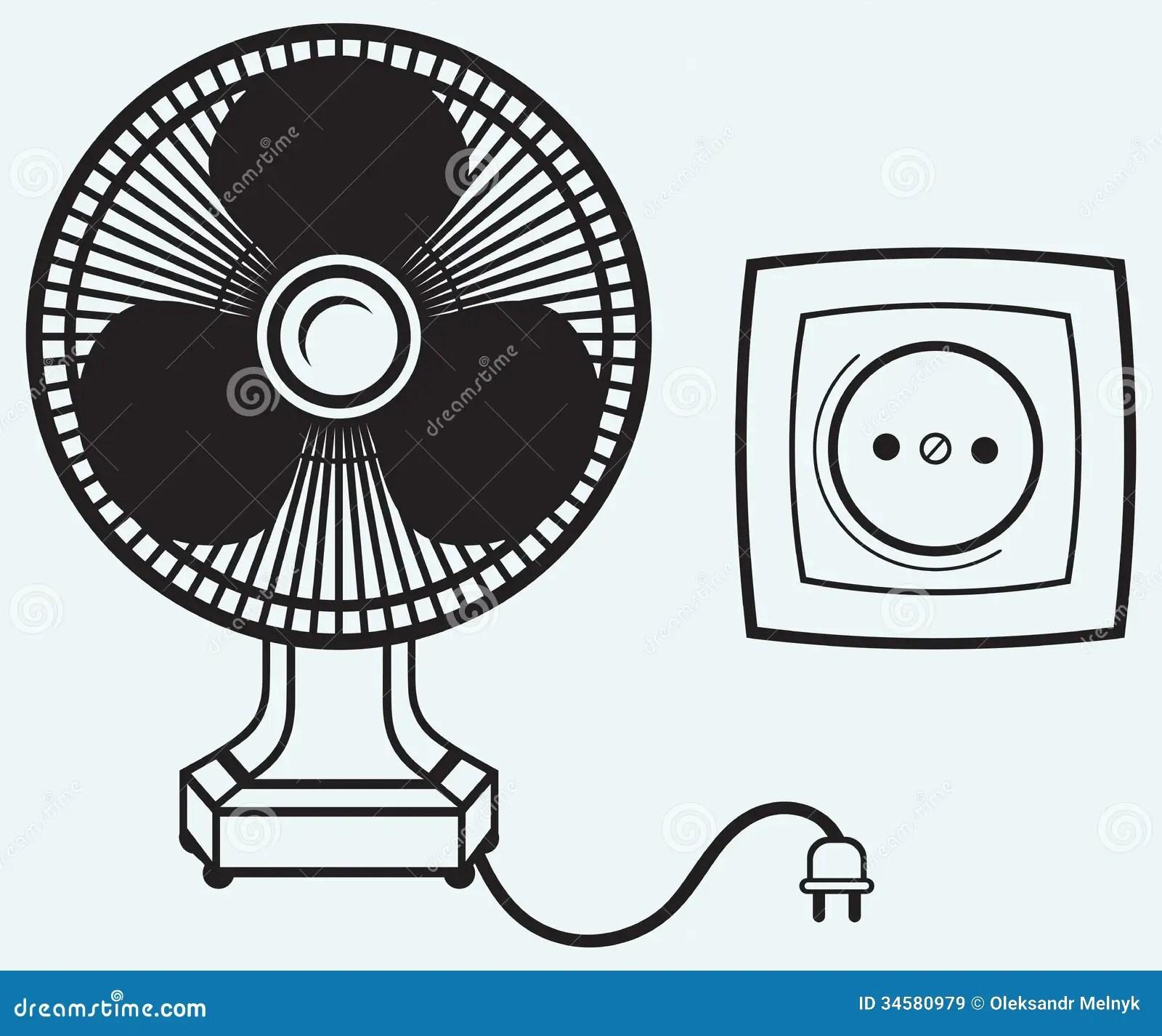 Electric Fan Stock Vector Illustration Of Flutter