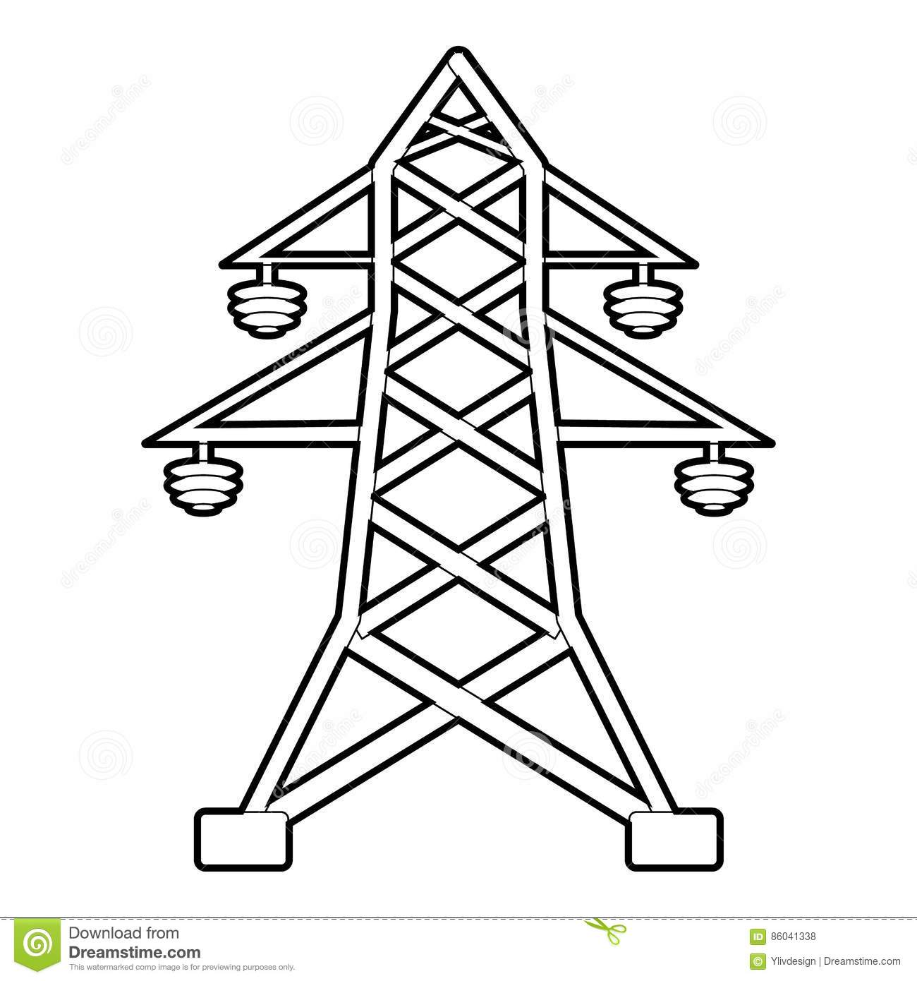Powerlines Cartoons Illustrations Amp Vector Stock Images