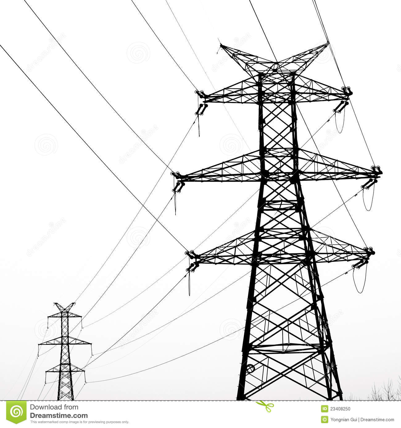 Electricity Pylon Stock Photo Image Of Electricity Industry