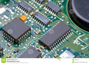 Electronic Circuits Stock Photography  Image: 16668772