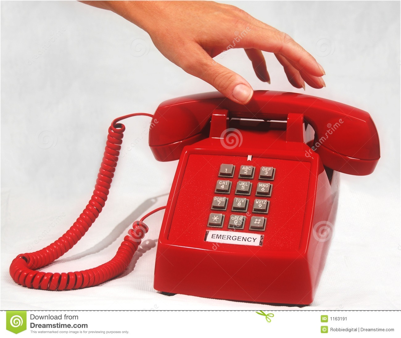 Emergency Phone Stock Image Image Of Urgency Medical