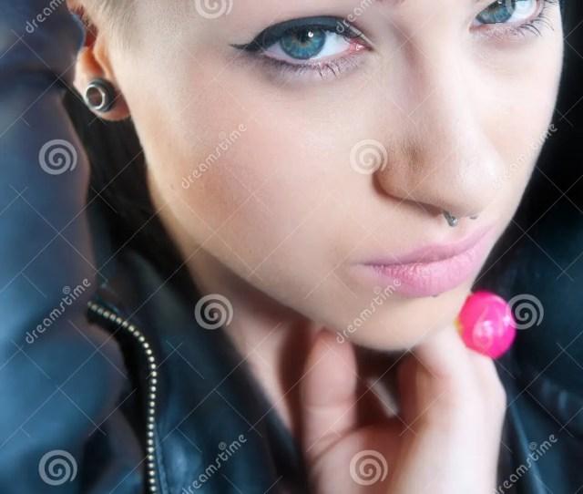 Emo Teen Girl