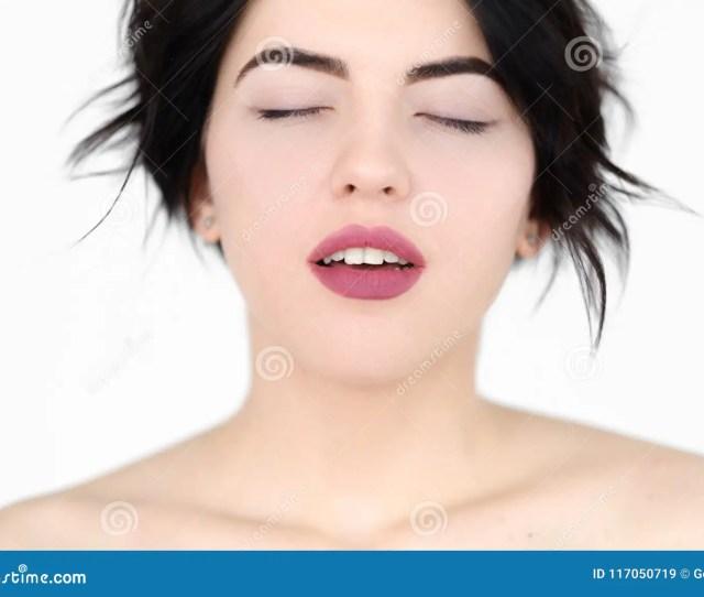 Emotion Face Orgasm Sex Plesure Climax Woman