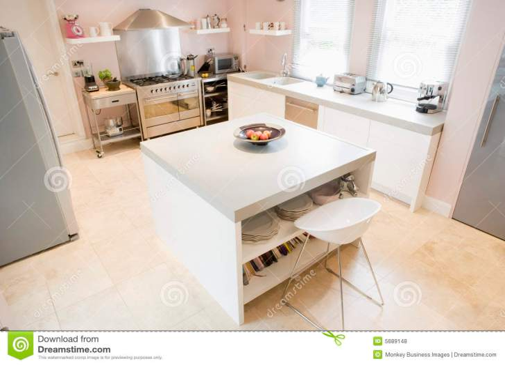 Empty Kitchen Royalty Stock Photos