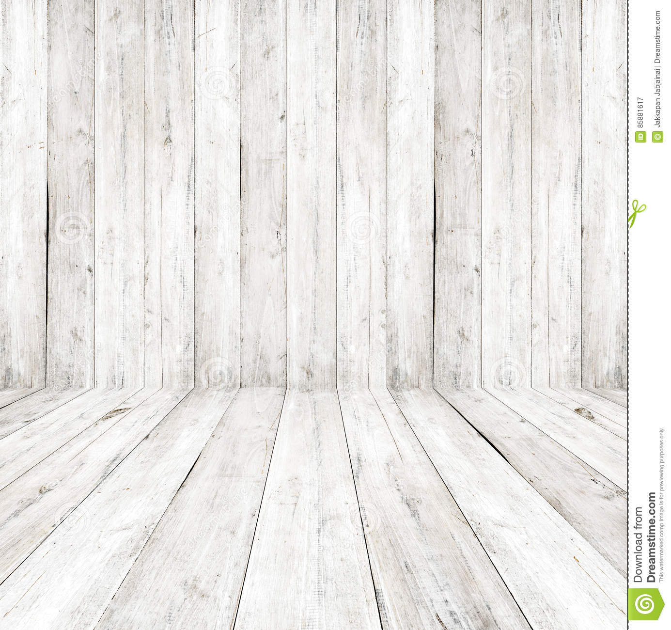Vintage Wooden Wall Stock Photo