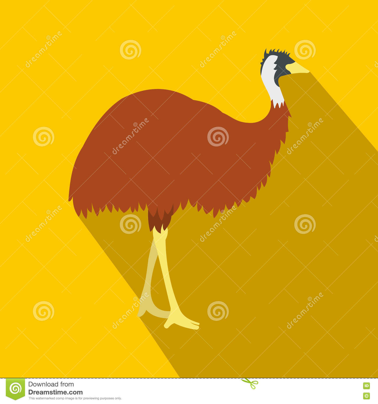Emu Cartoons Illustrations Amp Vector Stock Images