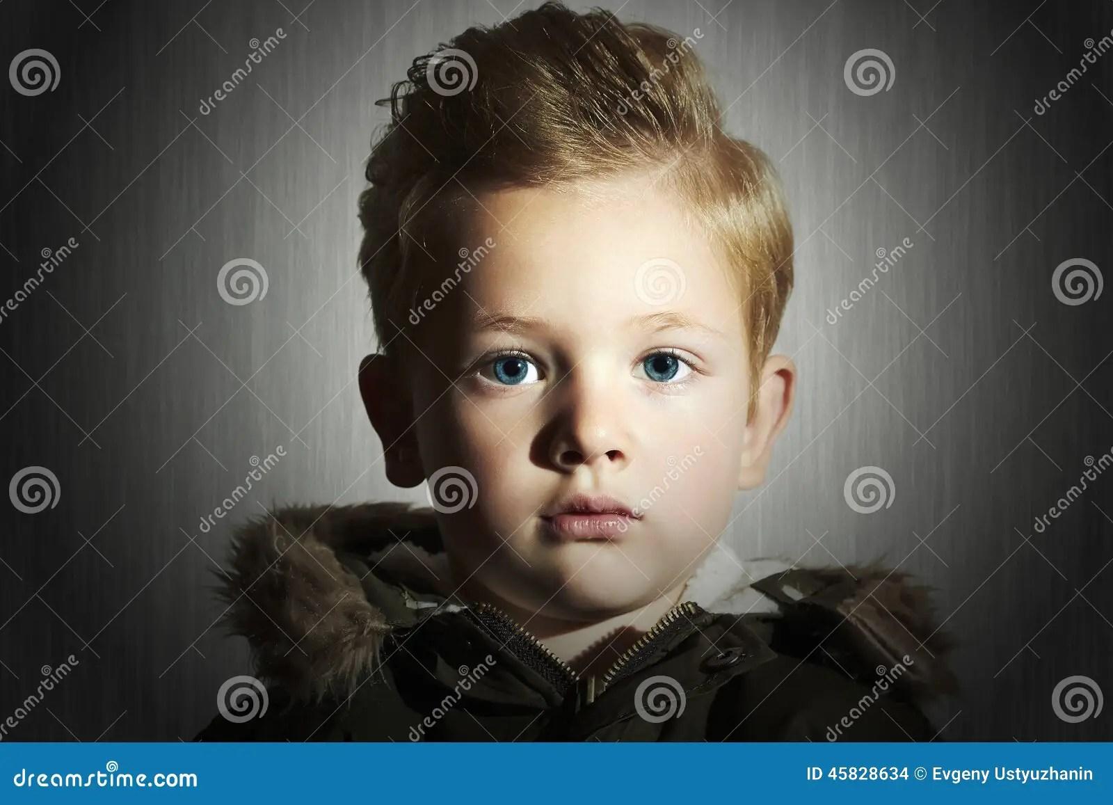 Coupe Enfant Garcon Interesting Dgrad Sur Cheveux Onduls