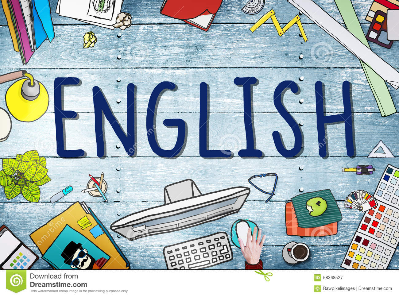 English British England Language Education Concept Stock