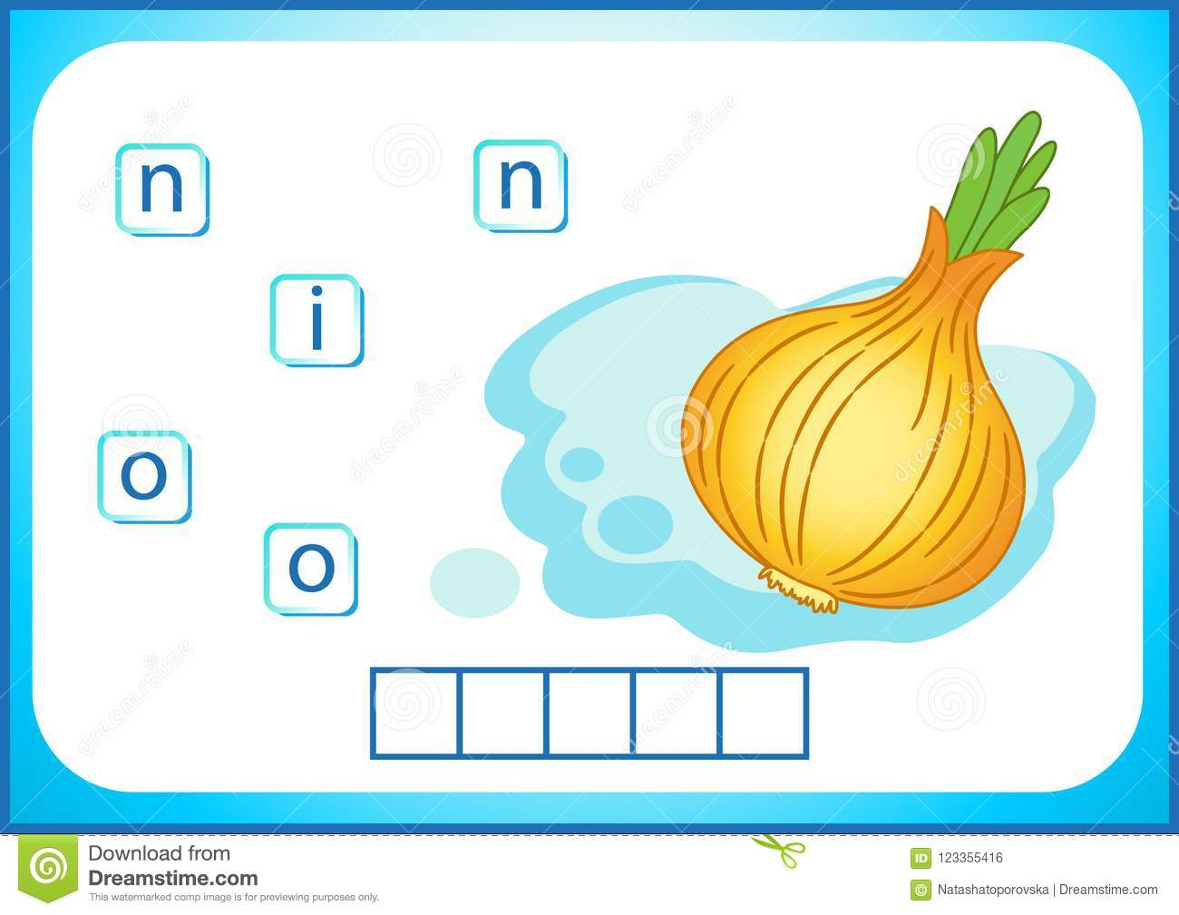 School Education English Flashcard For Learning English We Write The Names Of Vegetables And