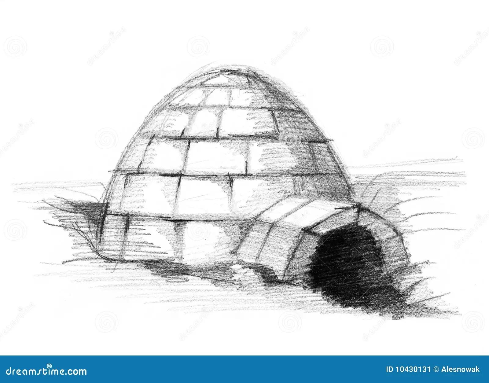 Eskimo Igloo Stock Image