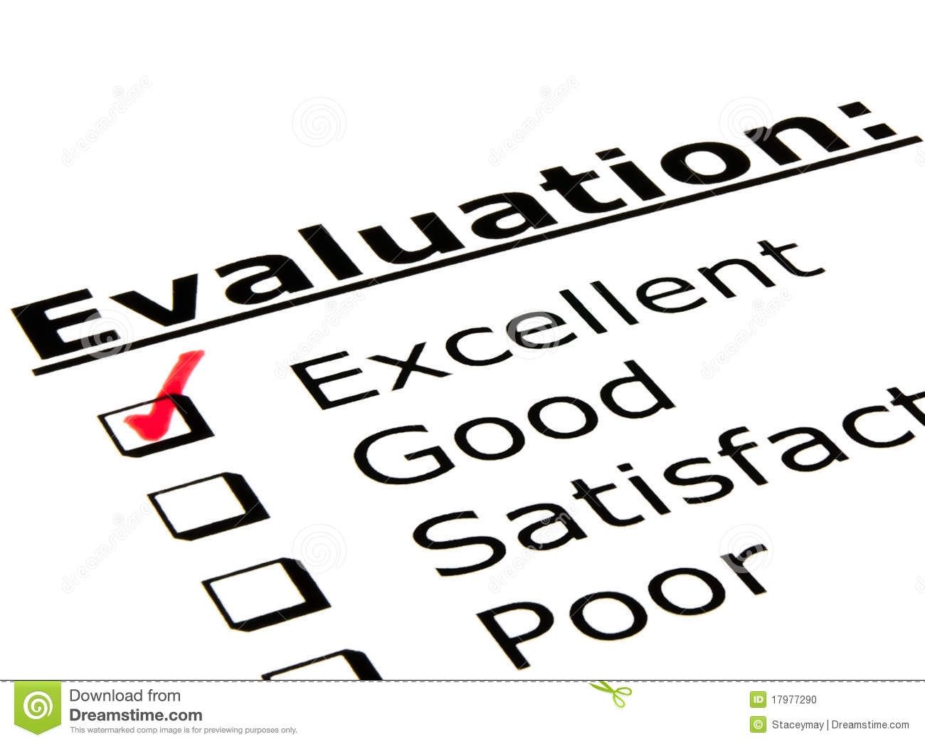 Evaluation Form Stock Photo Image Of Flyer Assessment
