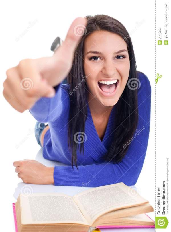 Excited Student Royalty Free Stock Photography - Image ...