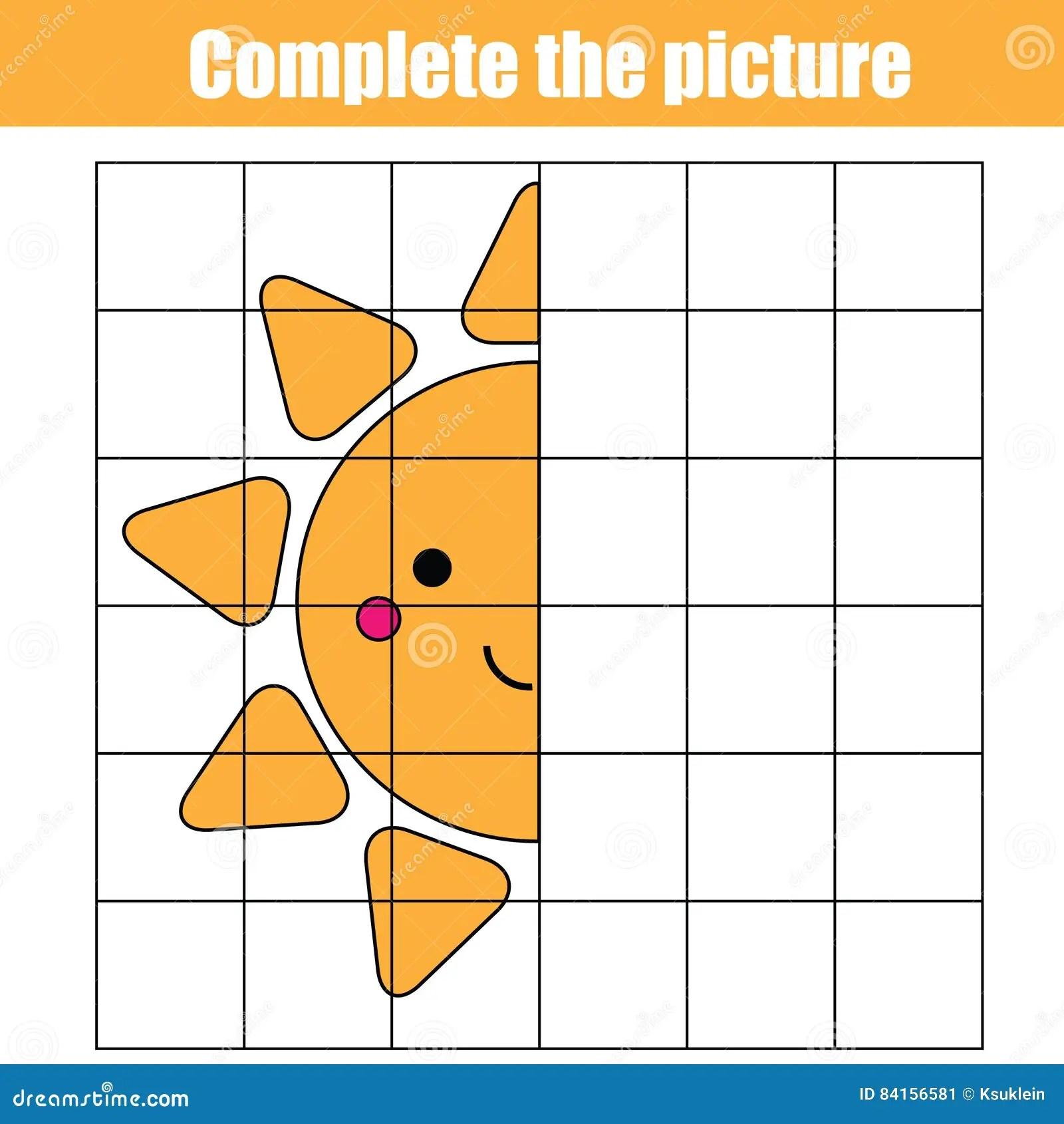 Exemplaar Door Net Voltooi Het Onderwijsspel Van