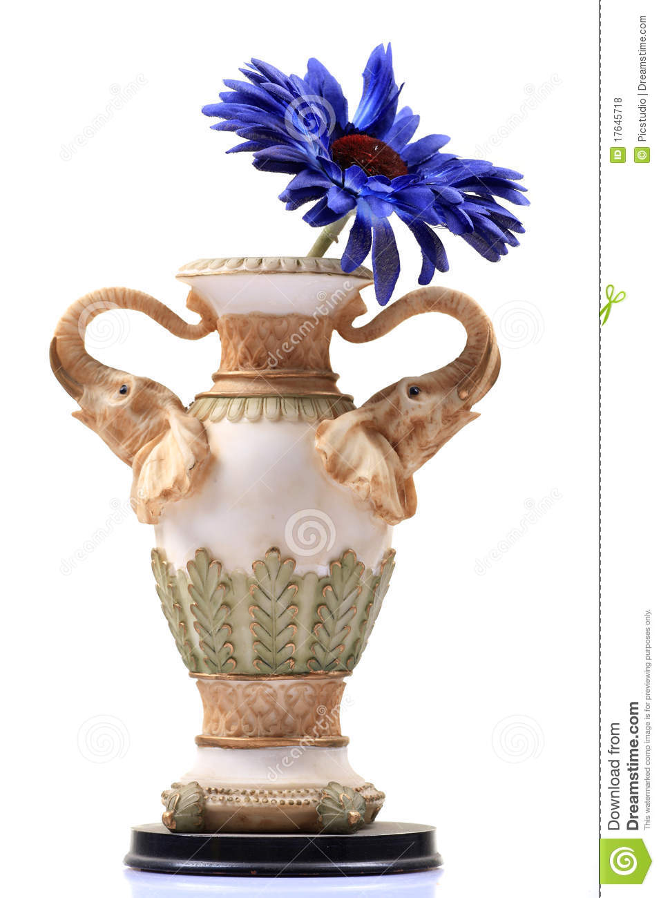 Flower Bouquet Clay Pot
