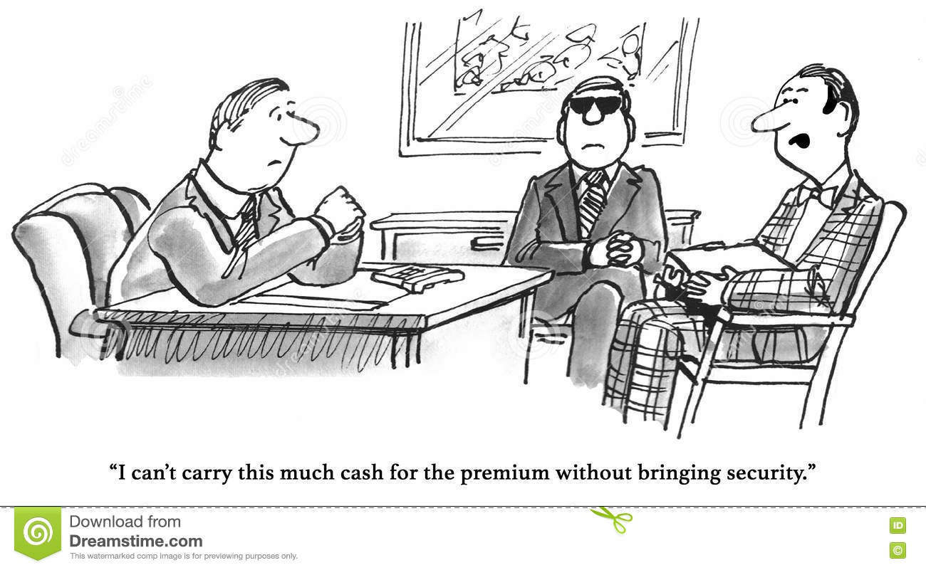 Expensive Health Insurance Stock Illustration Image Of