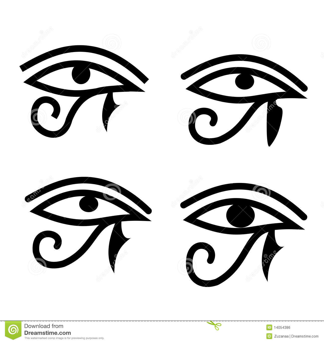 Eye Of Horus Royalty Free Stock Image