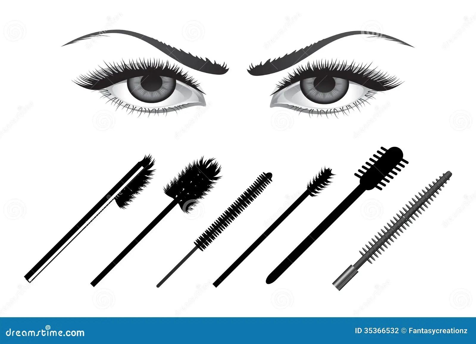 Eye Liners Stock Photography