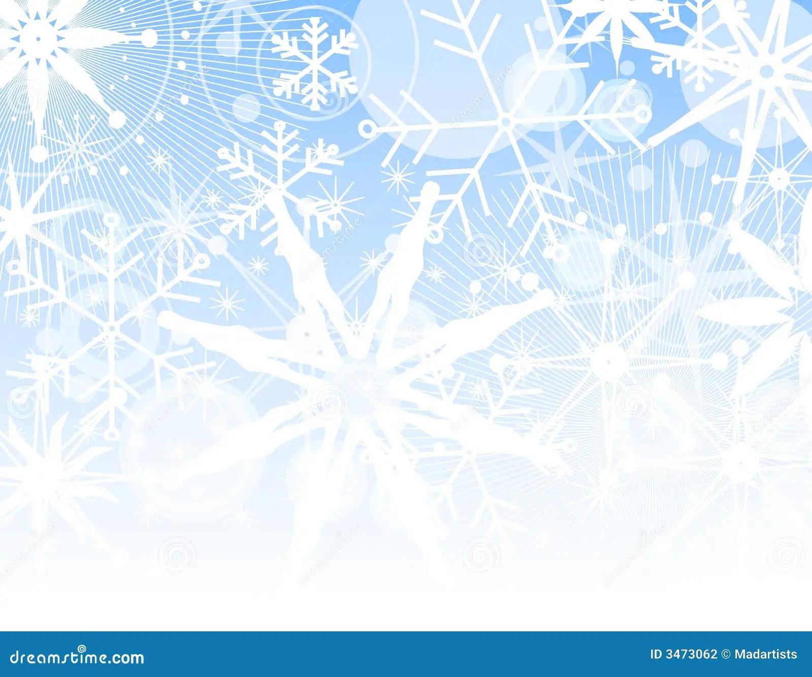 Fading Snowflake Background Stock Photography Image 3473062