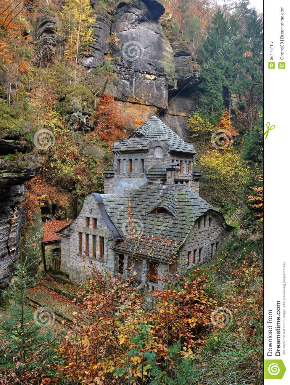 Fairytale House Royalty Free Stock Photography Image