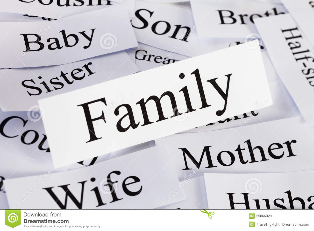 Family Concept Stock Photo Image Of Horizontal Wife