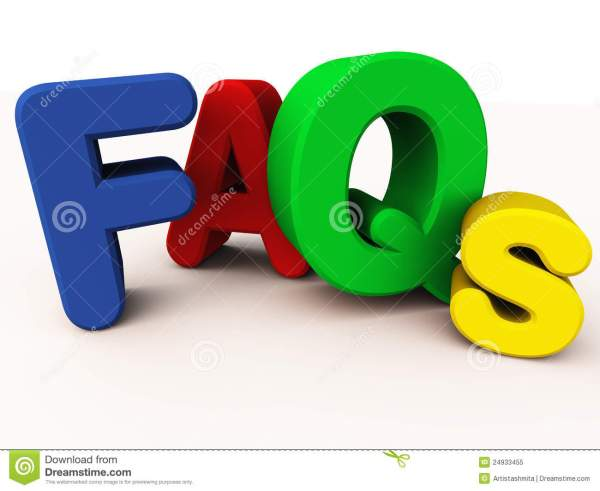FAQs Or Frequently Asked Questions Royalty Free Stock ...