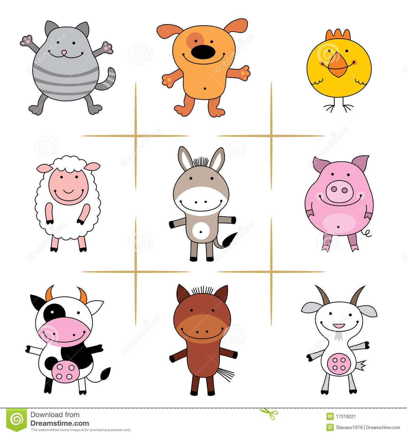 Farm Animal Sound Match Worksheet To