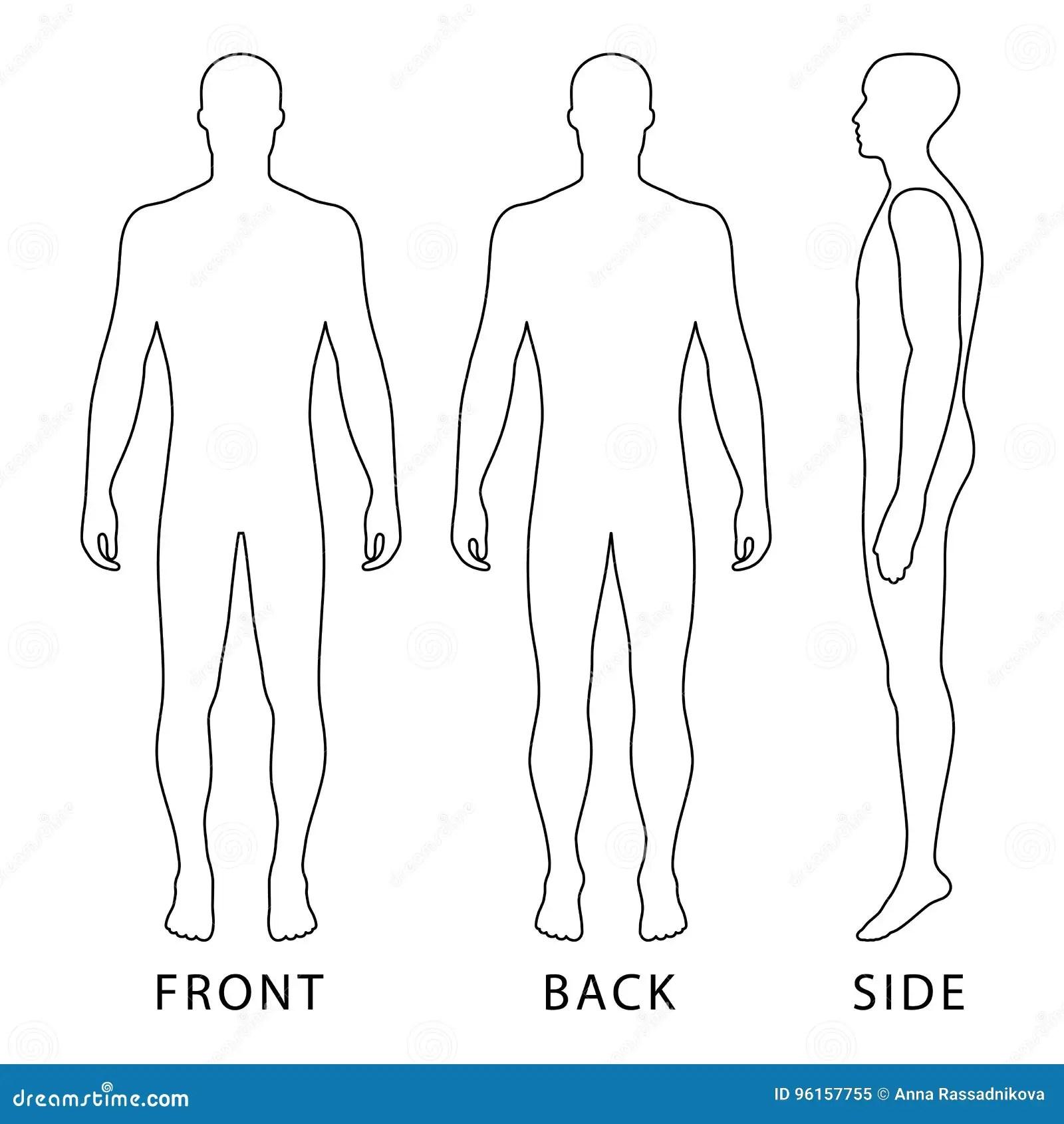 Fashion Man Figure Stock Vector Illustration Of Finger