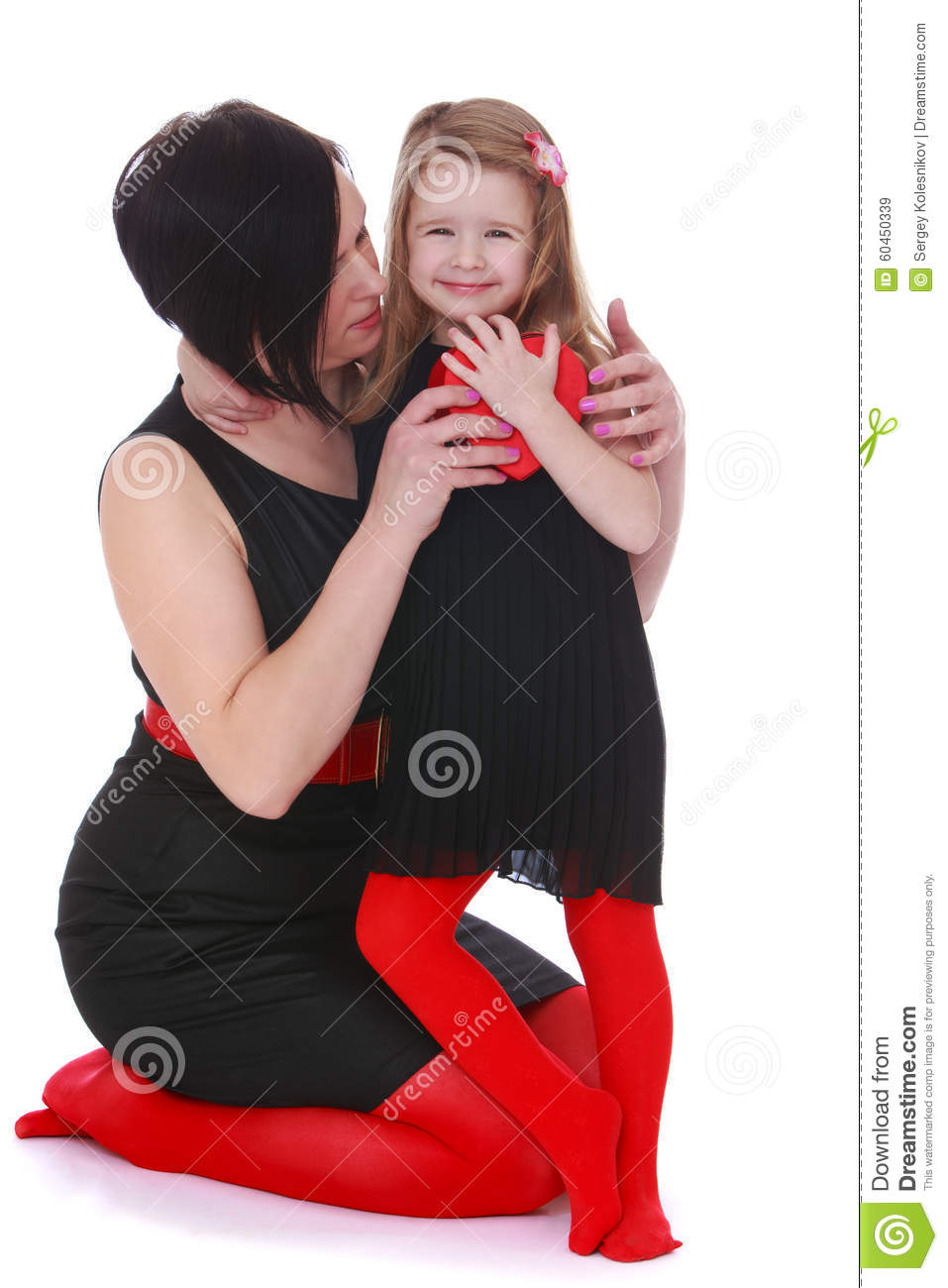 Fashion Mom And Daughter Stock Photo Image 60450339