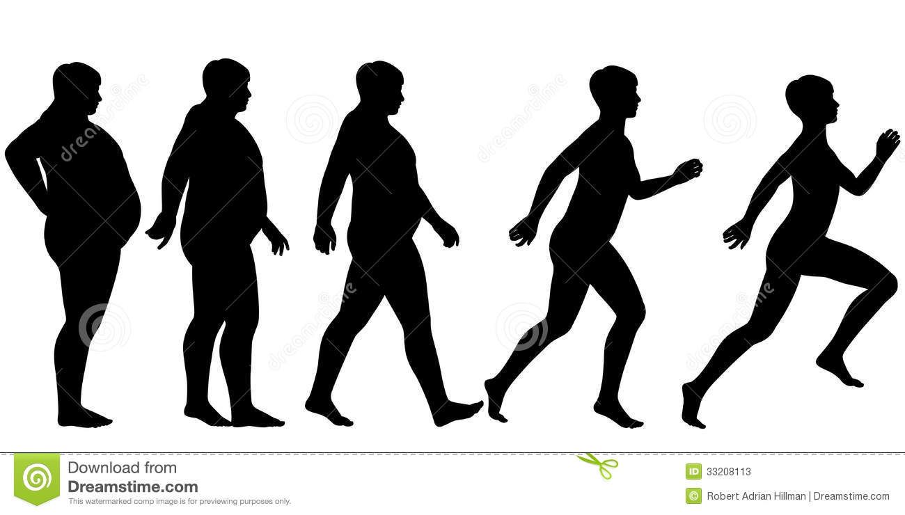 Fat To Fit Stock Photos