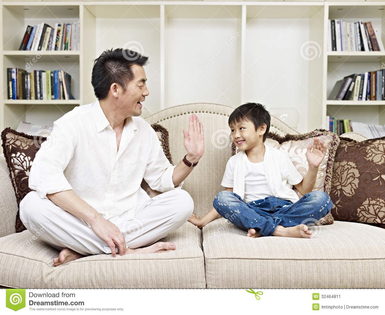 Father And Son Stock Image Image Of Class Communication