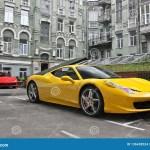 Ferrari Spider Italia Yellow Photos Free Royalty Free Stock Photos From Dreamstime