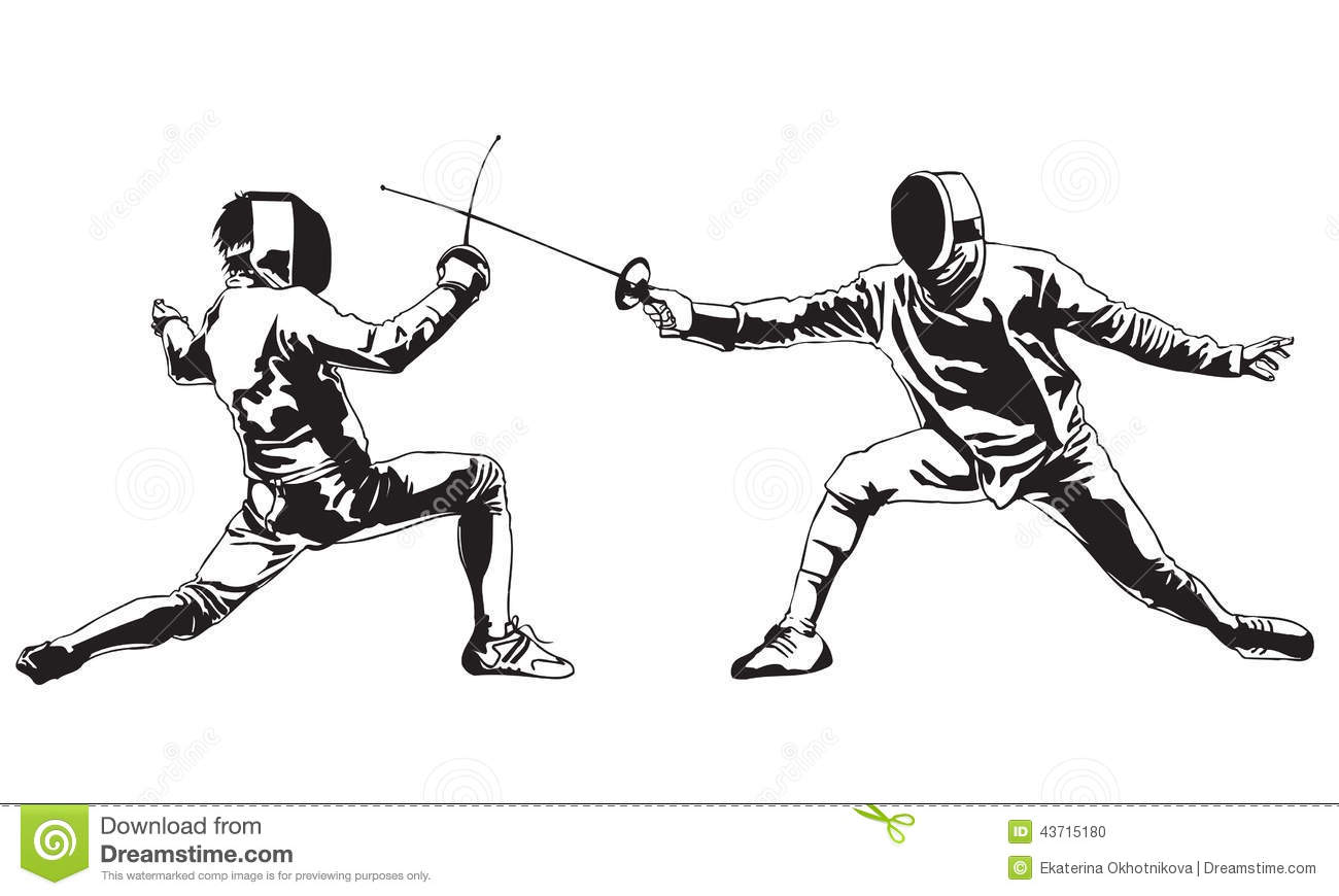 Fencing Cartoons Illustrations Amp Vector Stock Images