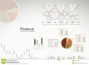 Finance Infographics  Graphs, Charts, Statistics Stock