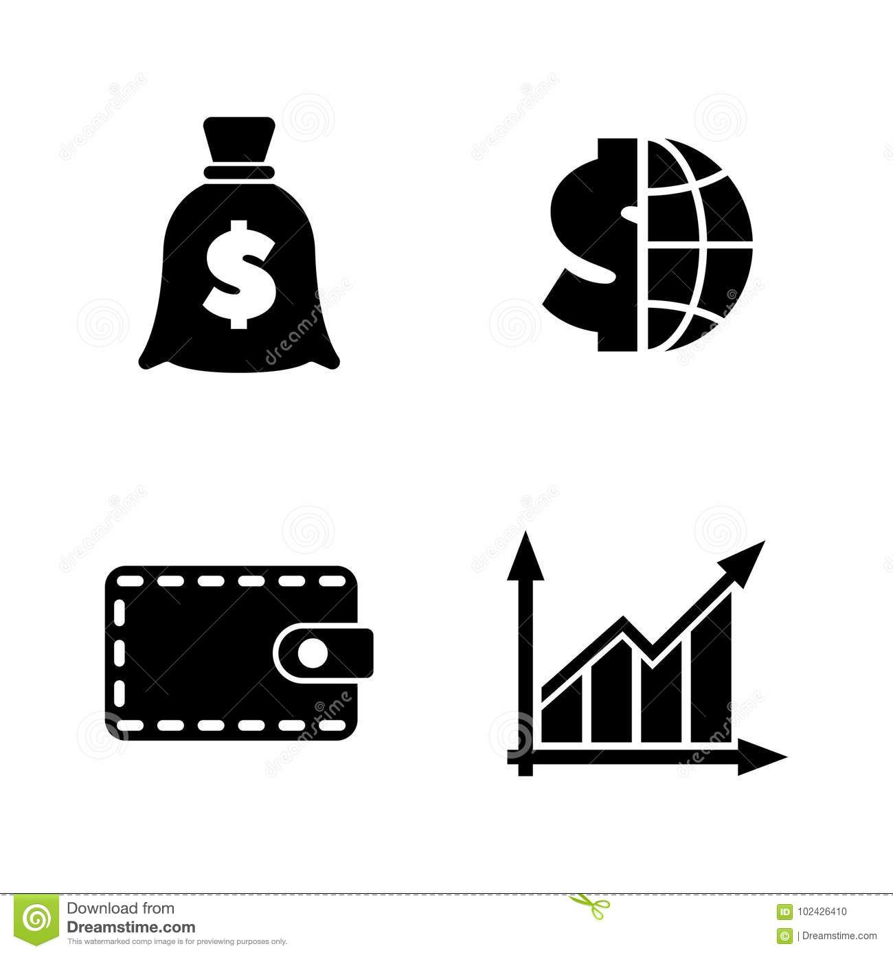 World Market Economy Growth And Increase Stock Photo