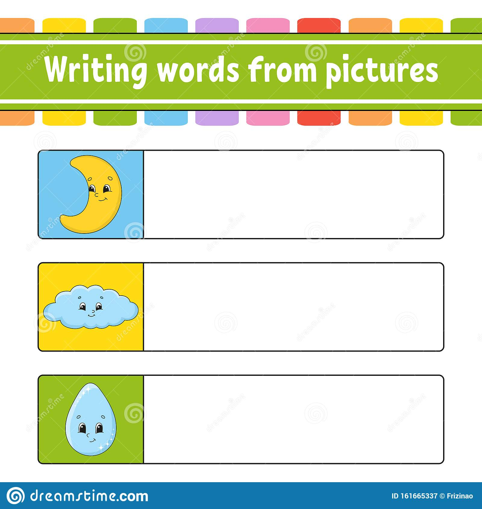 Find The Correct Answer Draw A Line Learning Words